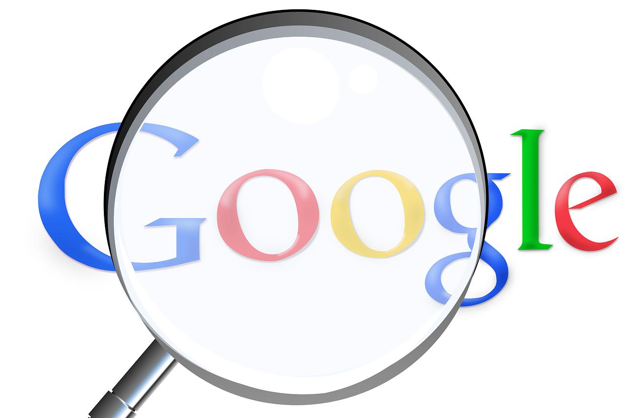 Google forstørrelsesglas billede