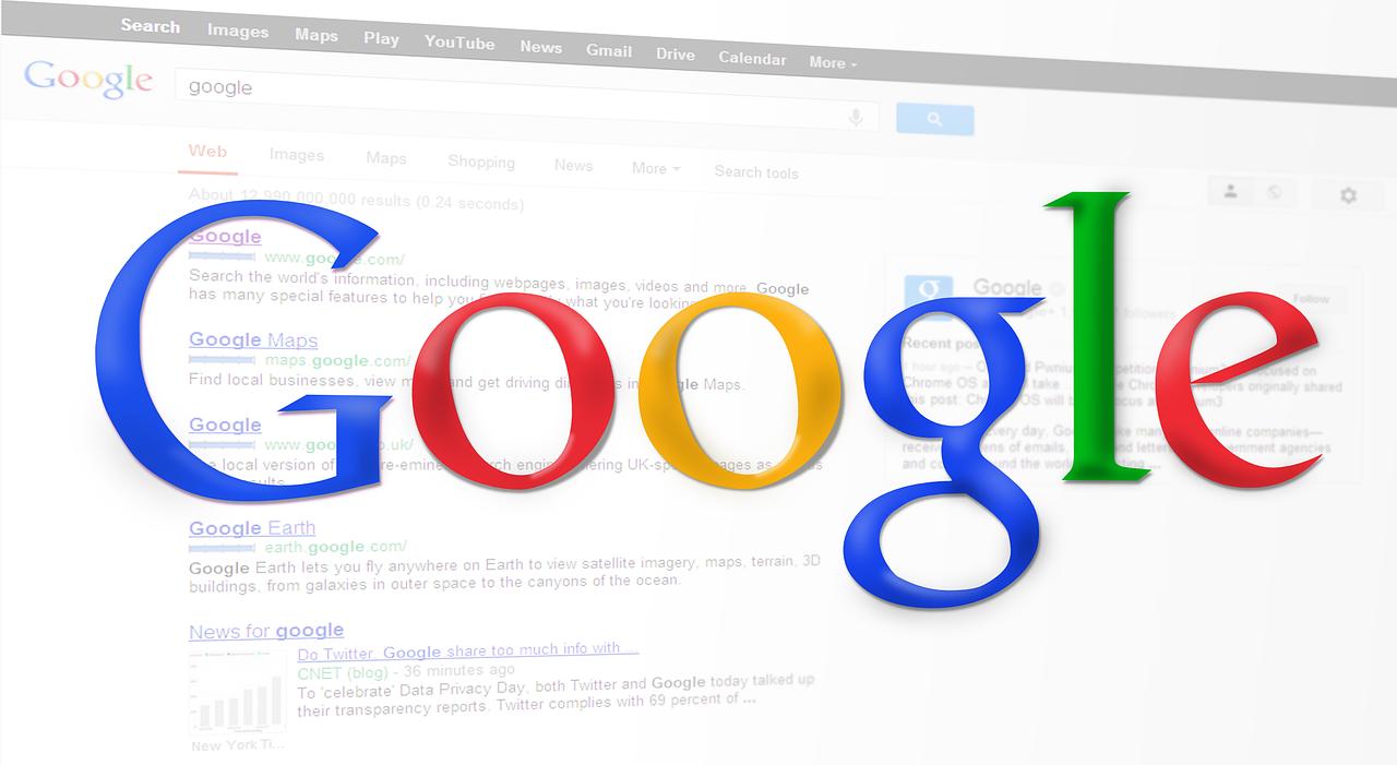 Google Ads billede - reklame på Googles søgemaskine